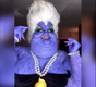 This guy transformed himself into Ursula with makeup
