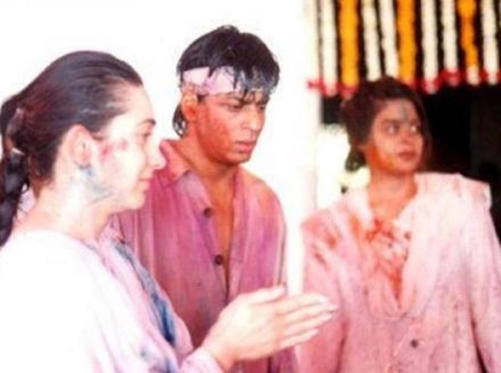 Shah Rukh and Gauri