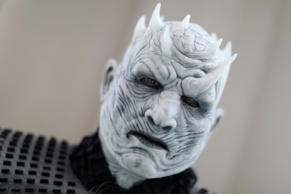 "Jim Hampshire, dressed as a character from ""Game of Thrones,""  attends the openi..."