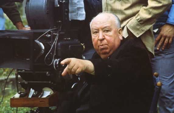 Slide 1 of 21: ALFRED HITCHCOCK -- Pictured: Director, Alfred Hitchcock, circa 1970 -- Photo by: NBCU Photo Bank