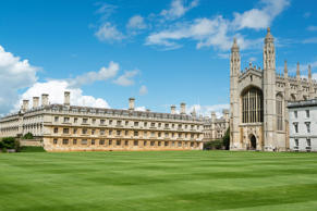 King's College, Cambridge University. Founded in 1441 by Henry VI King of England.