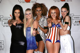 1997 MTV Video Music Awards The Spice Girls (Photo by Terry McGinnis/WireImage)