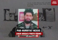 Zakir Musa's photo found at house of Geelani's son-in-law