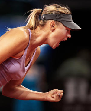 Maria Sharapova. (Photo by Adam Pretty/Bongarts/Getty Images)