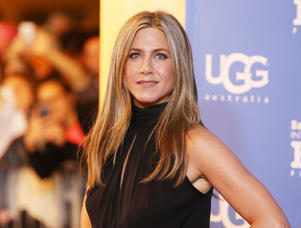 SANTA BARBARA, CA - JANUARY 30: Jennifer Aniston arrives at the 30th Santa Barbara International Film Festival - Montecito Award held at Arlington Theatre on January 30, 2015 in Santa Barbara, California. (Photo by Michael Tran/FilmMagic)