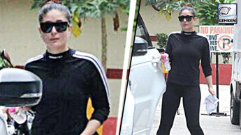 Kareena Kapoor Looks FIT In Her Recent Gym Pictures