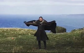 'GoT': See Jon Snow's dragon impression