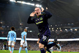 Resumen: Man City 1-1 Everton, gol histórico de Rooney
