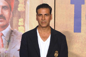 Indian Bollywood actor Akshay Kumar attends the press conference for his upcoming Hindi film 'Toilet Ek Prem Katha', directed by Shree Narayan Singh, in Mumbai on July 27, 2017.