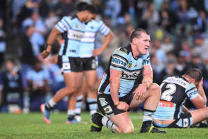 If they listen to their coach, Cronulla's players might get the impression they had nothing to do with the team's loss.