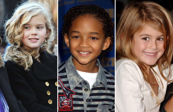 Slide 1 of 63: Ava Phillippe, Jaden Smith, Kaia Gerber