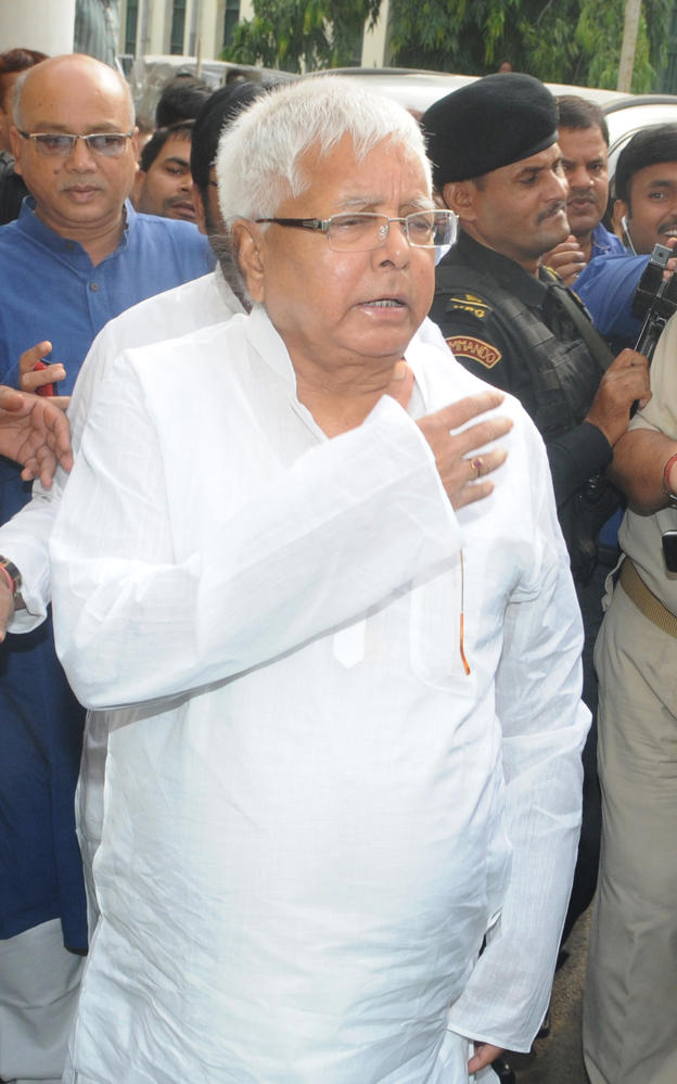 Taxmen Seize Property Worth 165 Crores, Say It Is Lalu Yadav Family's