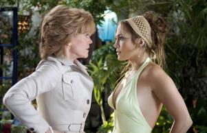 Jennifer Lopez and Jane Fonda in 'Monster in Law'