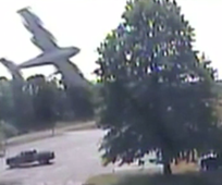 Pilot lucky to be alive after hitting tree