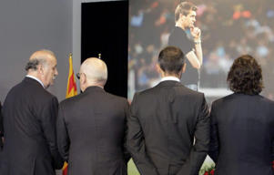 Many attended the Camp Nou to say goodbye to Tito.