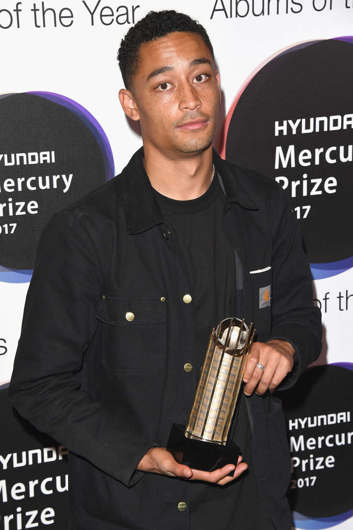 Mercury Prize nominee Loyle Carner attends The Hyundai Mercury Prize Nominations Announcement at The Langham Hotel on July 27, 2017 in London, United Kingdom.
