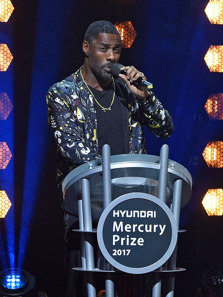 Idris Elba at the Hyundai Mercury Prize 2017 at Eventim Apollo on September 14, 2017 in London, England.