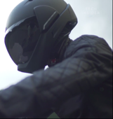 Helmet with a 360-degree view