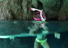 Aquamask takes snorkeling to another level