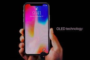 Apple Senior Vice President of Worldwide Marketing Phil Schiller introduces the new iPhone X during an Apple special event at the Steve Jobs Theatre on the Apple Park campus on September 12, 2017 in Cupertino, California.