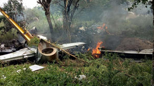 IAF trainee jet crashes near Hyderabad