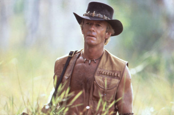 Slide 1 of 31: Crocodile Dundee (1986)