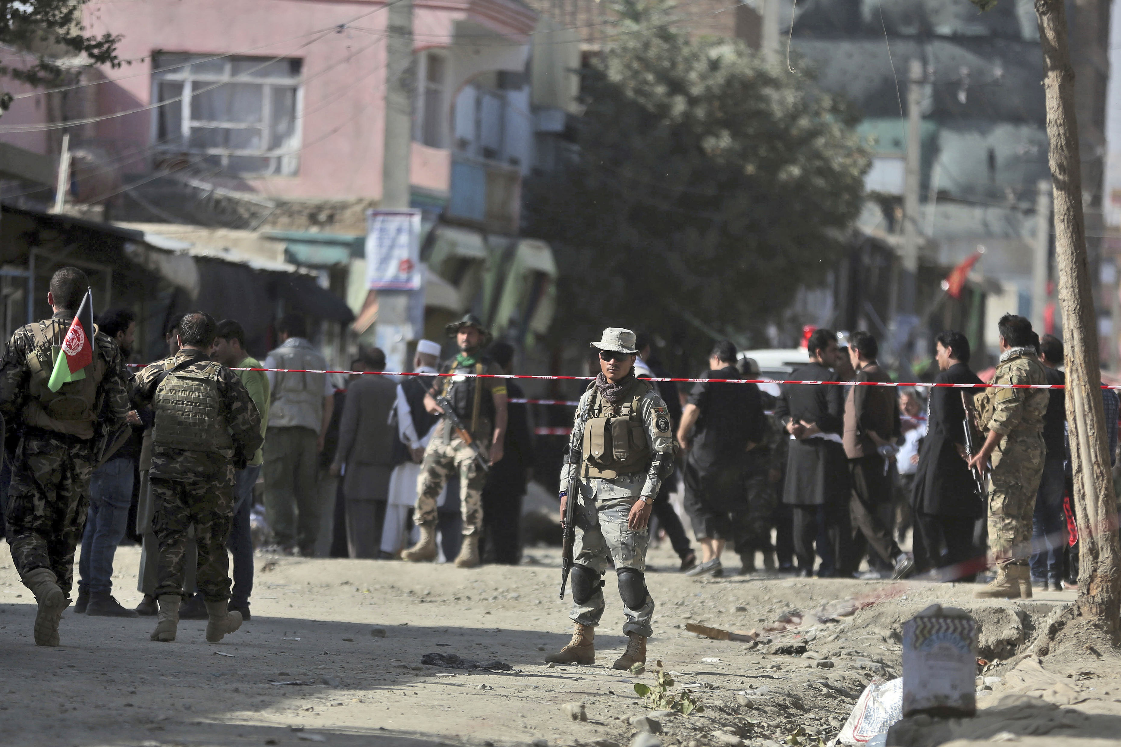 Blast hits Afghan capital near Shi'ite mosque, causing casualties