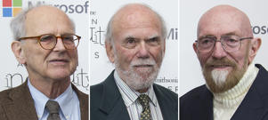 Rainer Weiss, Barry Barish and Kip Thorne, who won the Nobel Physics Prize 2017 for gravitational waves.