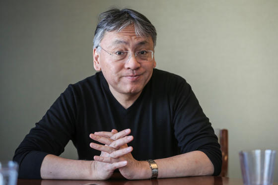 Slide 1 of 29: TORONTO, ON- MARCH 17 - Author of The Buried Giant Kazuo Ishiguro for interview at Random House. They made cookies with the logo of the cover of the book on them for a meet and greet after our interview. March 17, 2015 (David Cooper/Toronto Star via Getty Images)