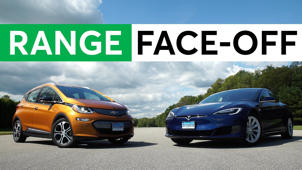 Chevy Bolt Sets CR Electric Range Record