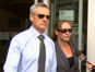 Superintendent Michelle Stenner today arrived at the Brisbane Magistrates Court for her first appearance after being charged with misconduct and perjury.