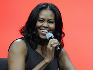 Former United States first lady Michelle Obama.