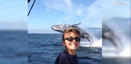 Boy just misses seeing incredible humpback whale jump