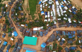 Drone footage captures scale of Rohingya crisis in Bangladesh