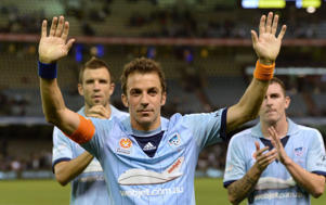 Del Piero has played his last game for Sydney FC. AFP PHOTO/ FILES / MAL FAIRCLOUGH
