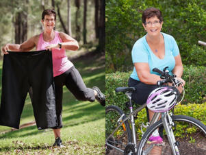 Carolyn Broomfield, 60, re-evaluated her whole approach to life after the loss of a dear friend.: Grandmother loses 30kg after tragedy motivates a lifestyle transformation