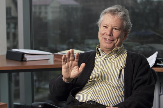 Slide 1 of 31: University of Chicago Graduate School of Business professor Richard H. Thaler. (Photo by Ralf-Finn Hestoft/Corbis via Getty Images)