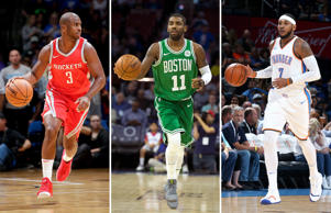 Chris Paul; Carmelo Anthony; Kyrie Irving
