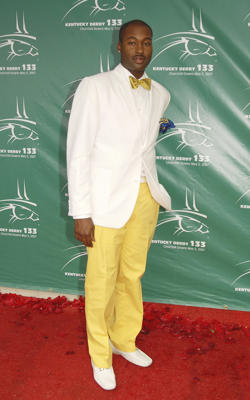 FILE - In this May 5, 2007 file photo, Mychael Knight arrives at the 133rd Kentucky Derby at Churchill Downs in Louisville, Ky.
