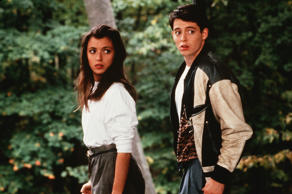 No Merchandising. Editorial Use Only. No Book Cover Usage. Mandatory Credit: Photo by Paramount/Kobal/REX/Shutterstock (5885124o) Mia Sara, Matthew Broderick Ferris Bueller's Day Off - 1986 Director: John Hughes Paramount USA Scene Still Comedy La folle Journée de Ferris Bueller