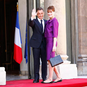 The model is married to former French President Nicolas Sarkozy Photo: Julien M. Hekimian/Getty Images