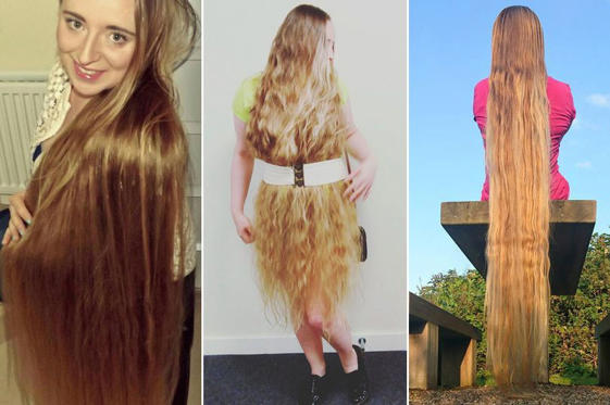 Real-life Rapunzel Malgorzata Kulczyk has been growing her hair for years
