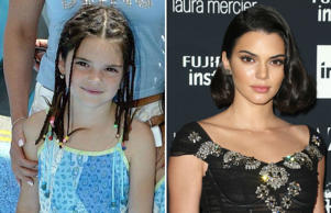 Kendall Jenner (2003 and 2017)