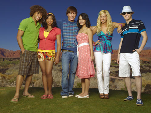 Slide 1 of 21: High School Musical 2 - 2007 Corbin Bleu, Monique Coleman, Zac Efron, Vanessa Anne Hudgens, Ashley Tisdale, Lucas Grabeel