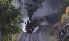 Mesmerizing steam train footage will leave you in awe