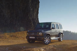 The new Mercedes-Benz G-Class exterior design