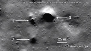 It Looks Like There Could Be Secret Tunnels Under the Moon's Surface