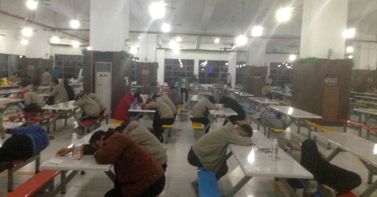 Workers at Apple Supplier Catcher Describe Harsh Conditions