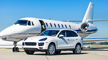 Since 2012, Delta Airlines has transported its VIP customers from gate-to-gate in a fleet of Porsche Cayennes and Panameras when connecting at selected hubs across America. The partnership is set to continue until 2021.