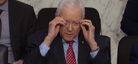 Senator becomes overnight sensation for taking off invisible glasses